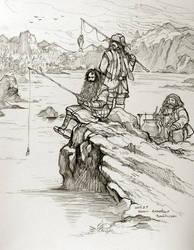 Bifur, Bofur, Bombur by evankart