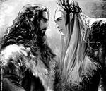 Thorin and Thranduil