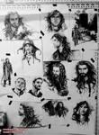 Wall of Hobbit by evankart