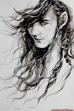 Curufin- son of Feanor by evankart