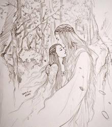 Galadriel and Arwen