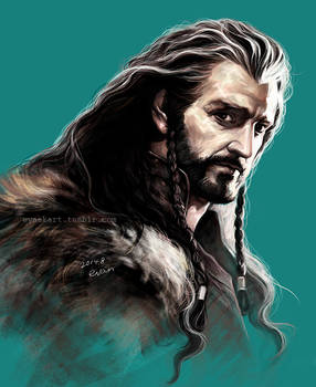 Thorin, coloring study