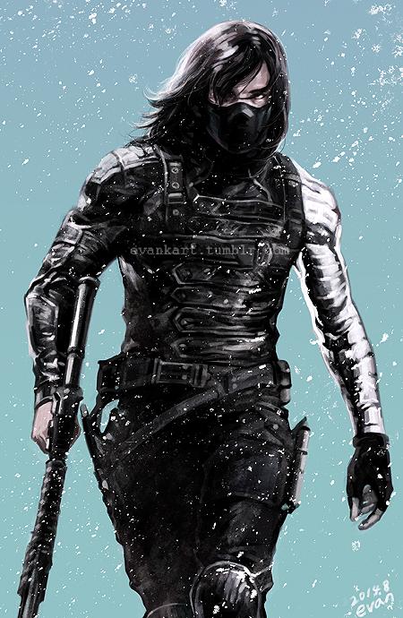 Winter Soldier By Evankart On Deviantart
