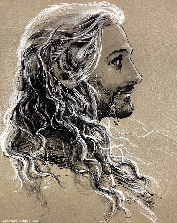 Fili, flowing hair by evankart