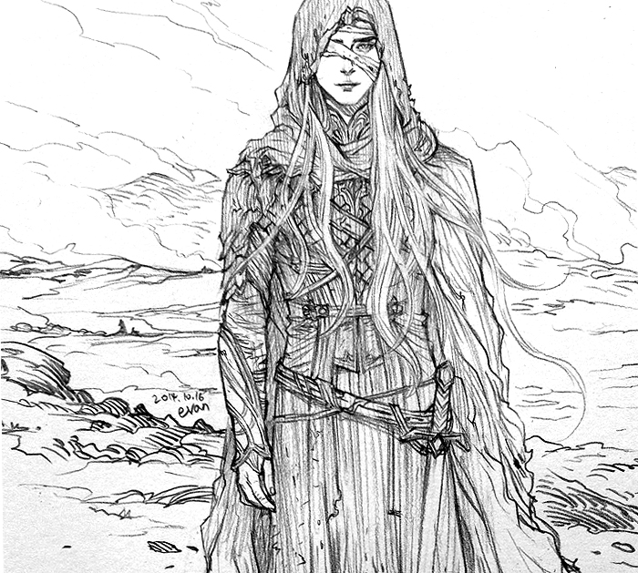 Young Thranduil by evankart