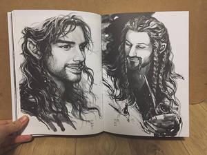 My hobbit artBook has arrived!
