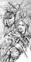 Stewards of Gondor by evankart