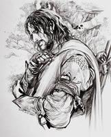 Boromir's arm guards