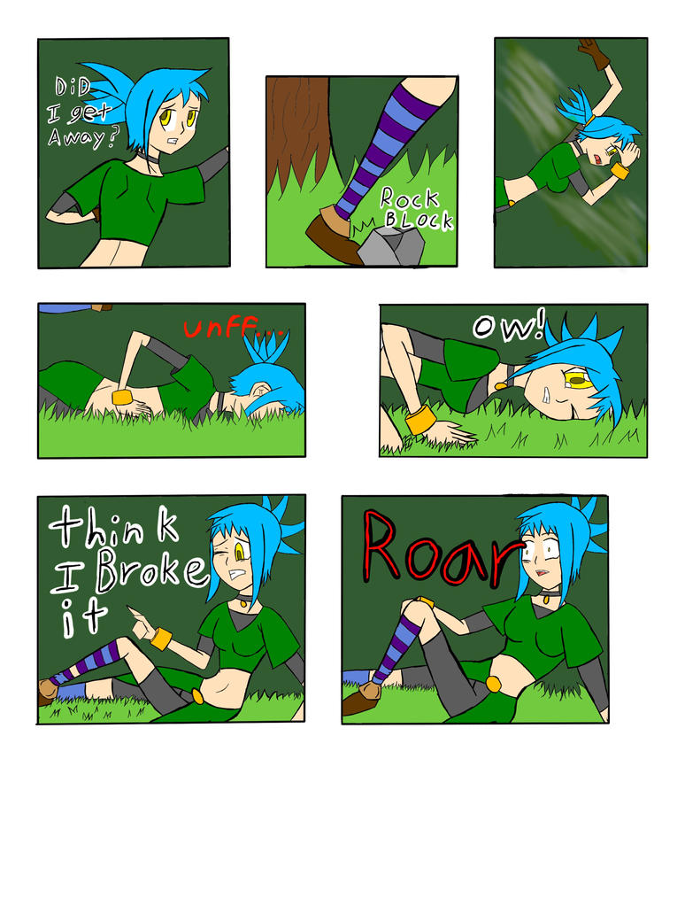 My Life as a blue haired sorceress page 13 by epic-agent-63