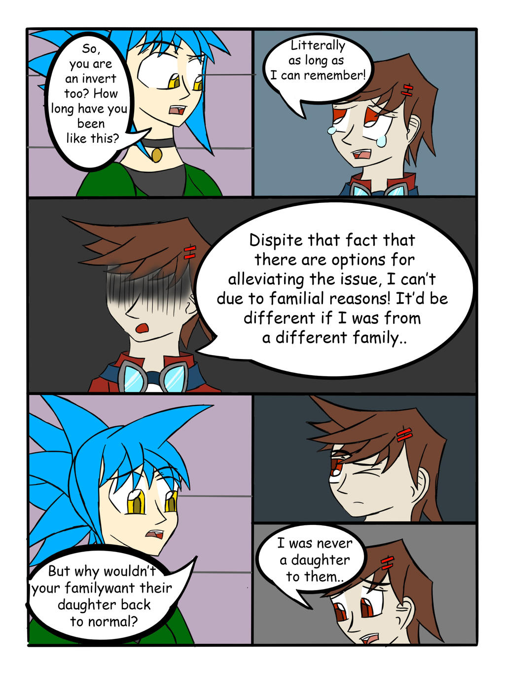 My Life as a Blue Haired Sorceress page 37 by epic-agent-63