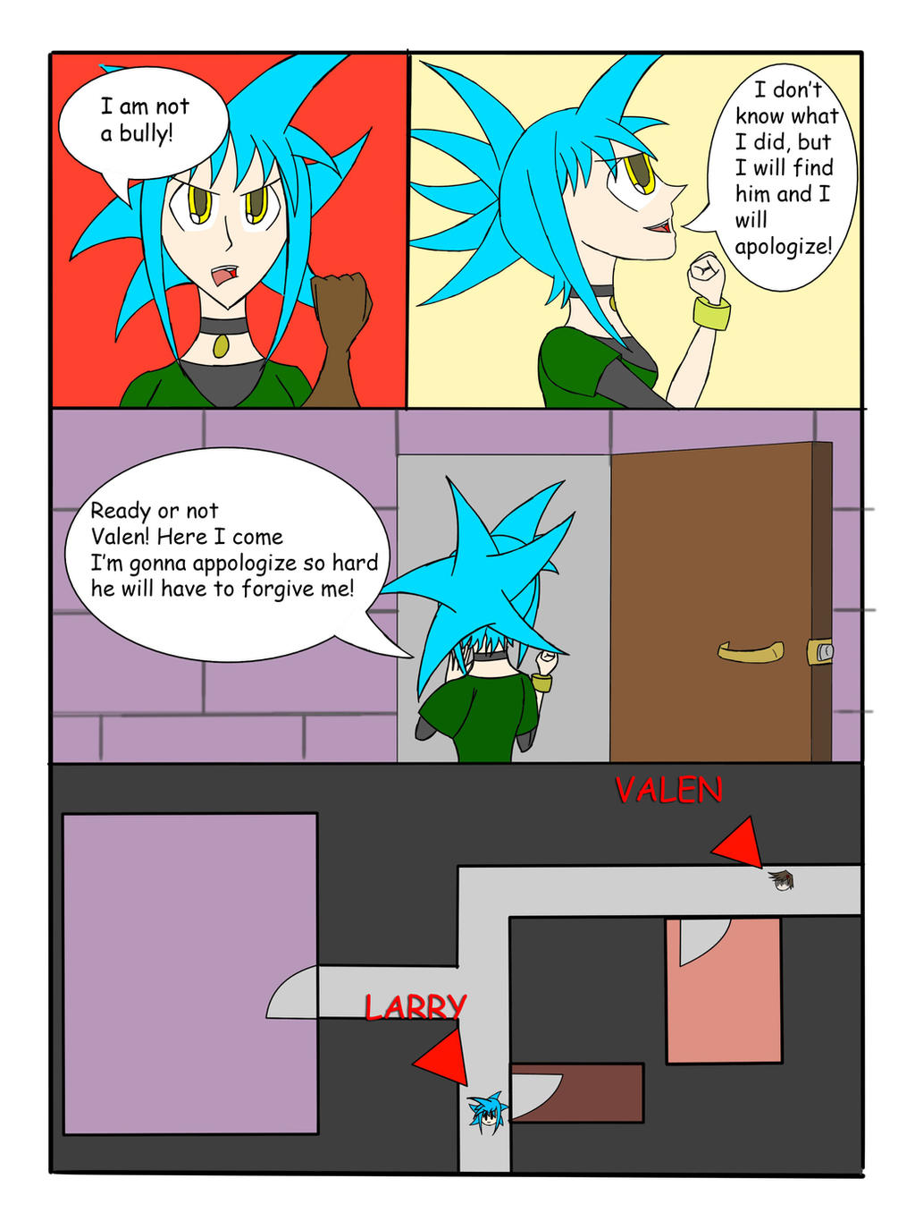 My Life as a Blue Haired Sorceress page 47 by epic-agent-63