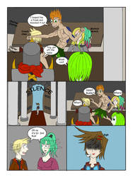 My life as a blue haired sorceress page 55 by epic-agent-63