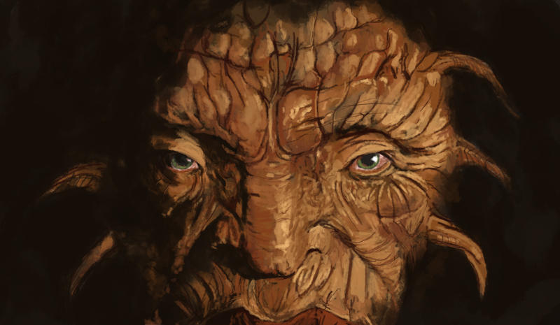 The face of Boe by Siegahertz on DeviantArt