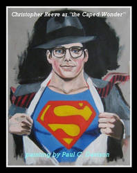 Christopher Reeve by Paulstered