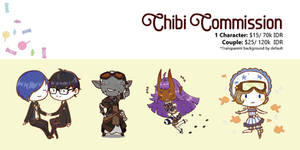 Chibi Commission Sheet [Open] by arieoll