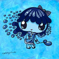 Bubbles Kawaii Chibi (with Speedpaint!) by explodingalien123