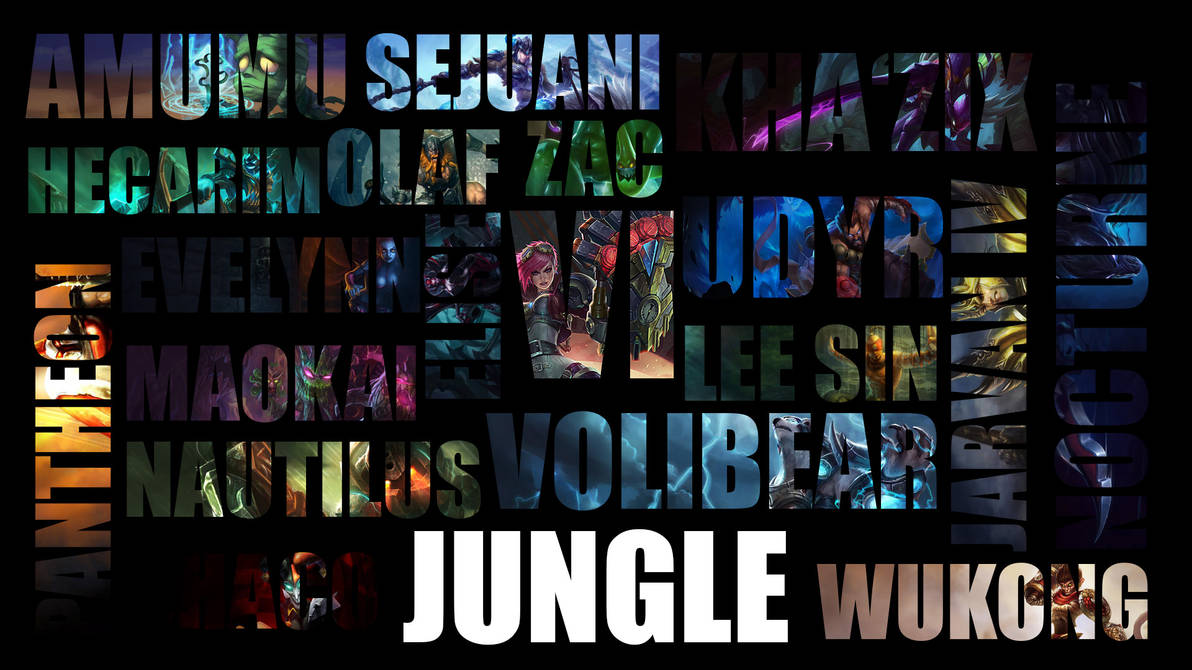 Jungle Lol Wallpaper By Laynz On Deviantart