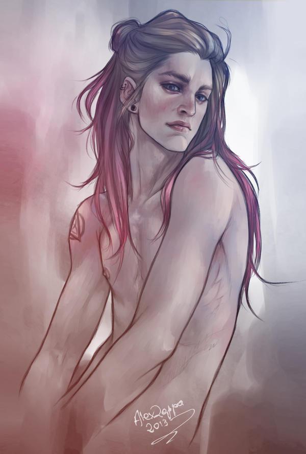 Sad Simone. by alexzappa