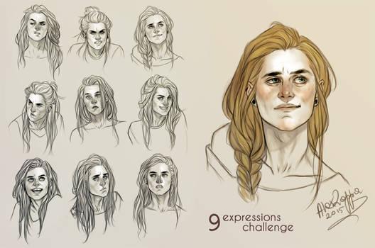 Simone 9 expressions