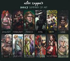 2017 ART SUMMARY by alexzappa
