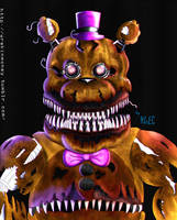 Five Night at Freddy's 4: Fredbear by WrekinMoney