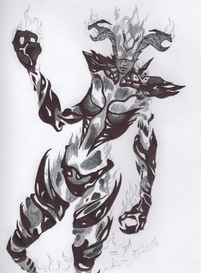 Flame Atronach by EL058