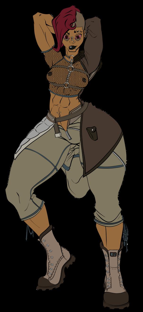 Persephone Raider Redesign FO4 by EL058