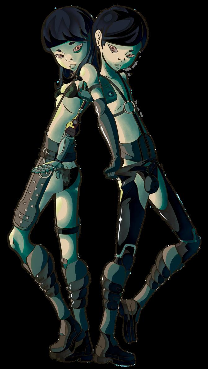 Twin Terroriers by EL058