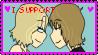 I Support Kari + Steve by Teffer-chan