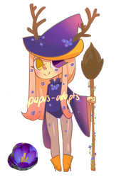 little witch - Set price [OPEN] by Papus-Adopts