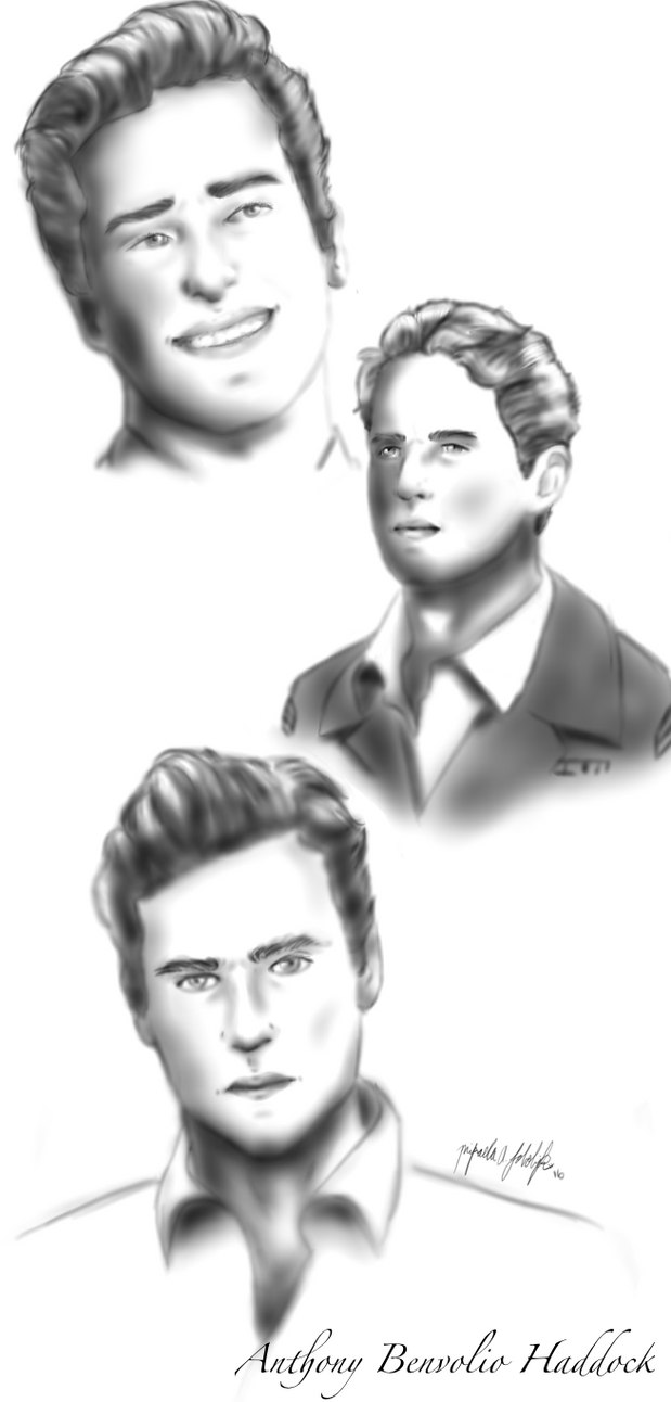 Anthony Face Claim Realism Study by TheFurrieDrawer1