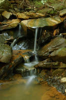 Waterfall in Miniature by markdc