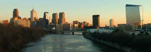 Philadelphia Skyline 5 by markdc