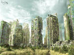 Matte-painting : Our Future