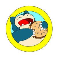 Big Snorlax Burger by Cathto