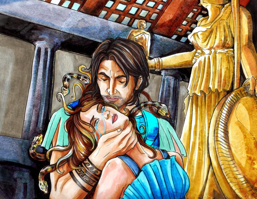 The Legend Of Medusa And Poseidon