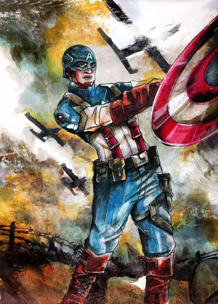 Captain America by lilbit075