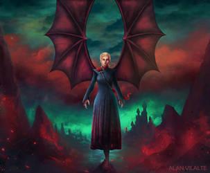 Daenerys Targaryen by daalbus
