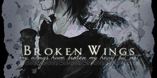 Broken Wings by Mr-Creepy