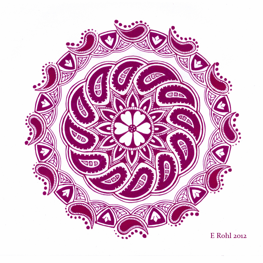 Mandala for Paisley-Power Contest by elero