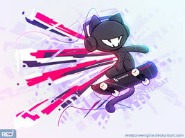 [Ipad Art] - Monstercat - Bad Boy by redstoneengine