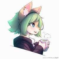 Green hair boi