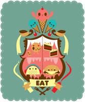Eat by crowded-teeth