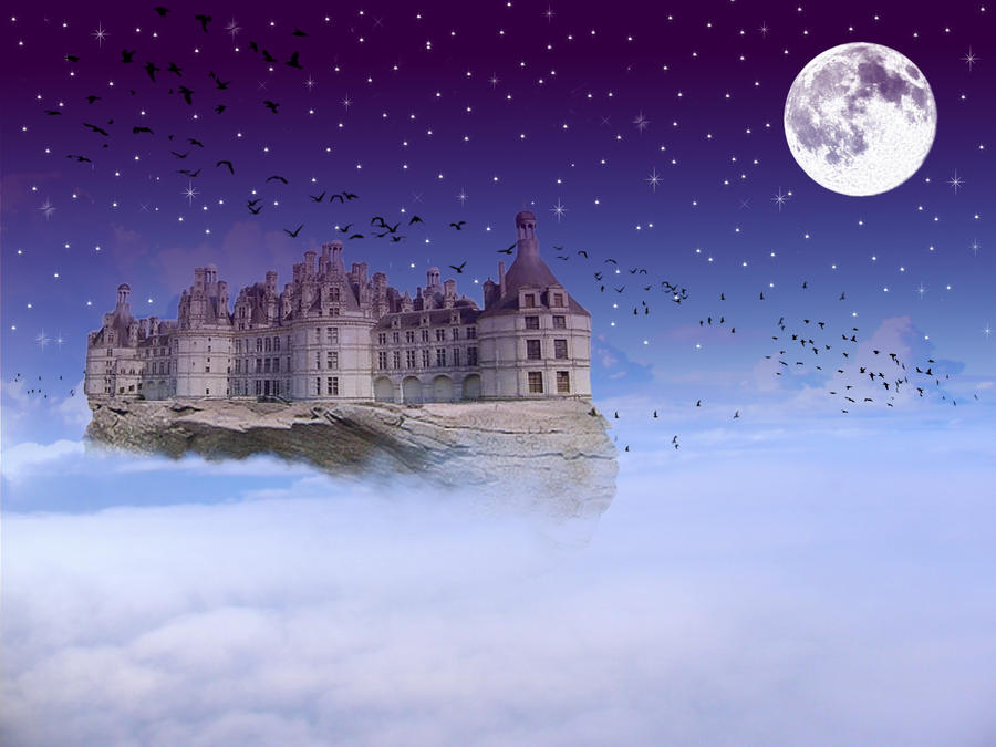 Floating Castle by Ang...