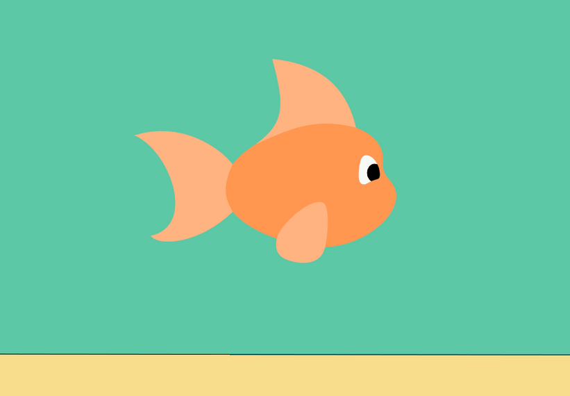 fish swimming in clip art animations n - 821×570