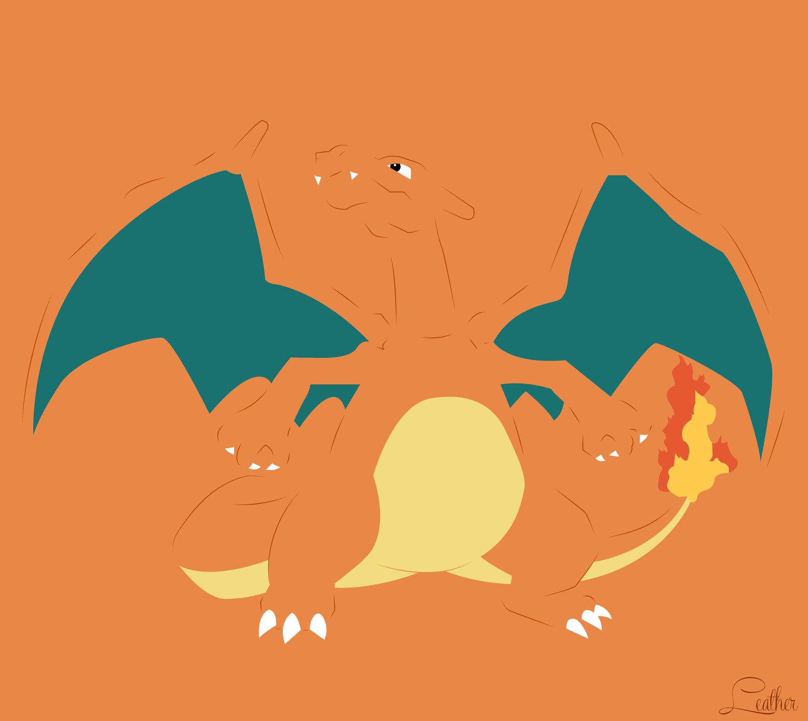 pokemon charmander hd wallpaper