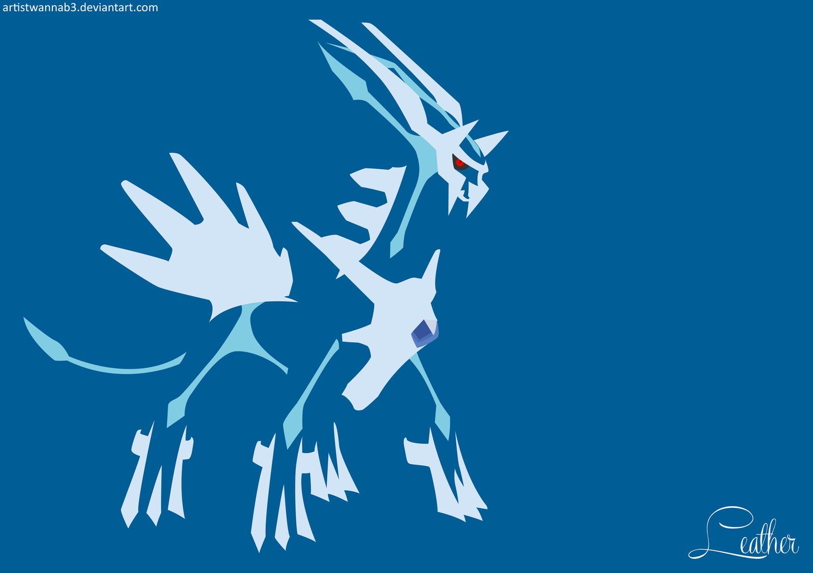 <b>Dialga Minimalist Wallpaper by</b> Dragoleni on DeviantArt   Pokemon ...