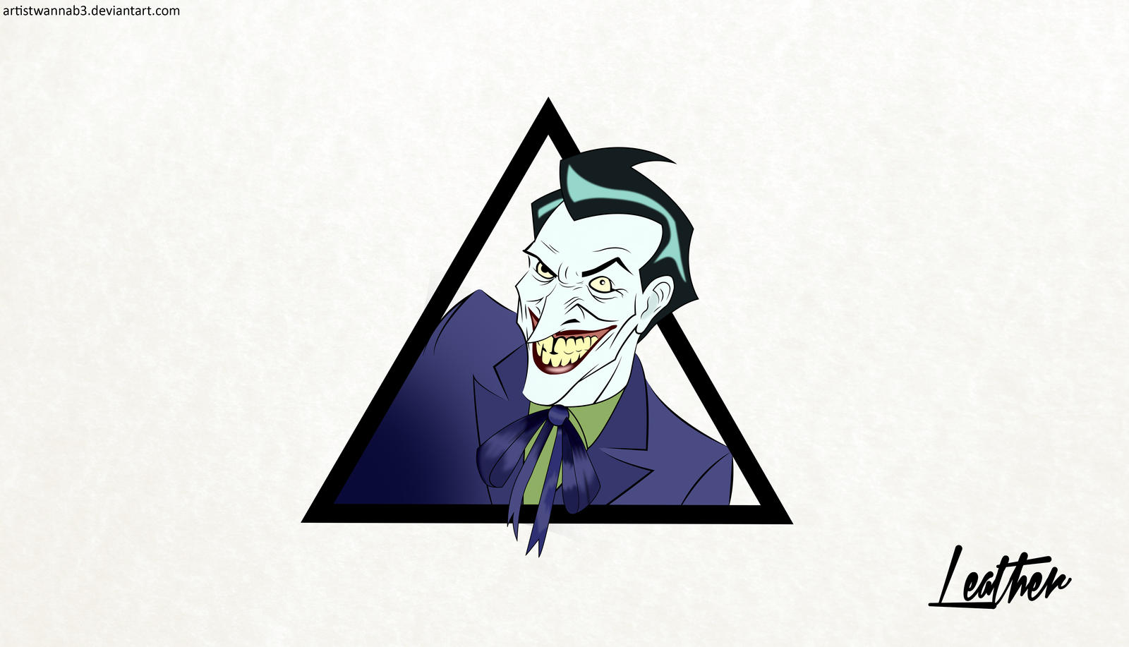 Joker Hd Wallpaper By Artistwannab3 On Deviantart