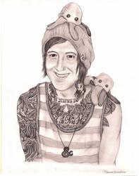 Austin Carlile Portrait by Melanie02