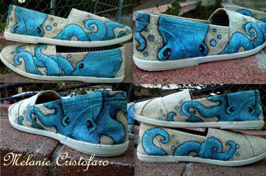 Octopus shoe design. by Melanie02